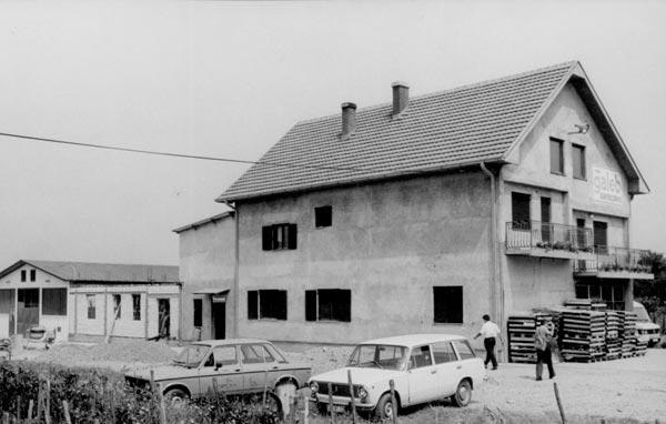 Servis na lokaciji Cerovac, 1986. godine