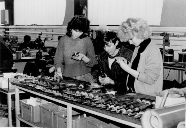 1992. godina, proizvodnja rotora za el. ručni alat