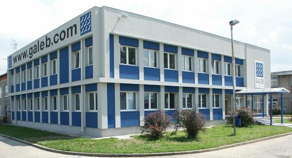 Galeb Group danas, upravna zgrada